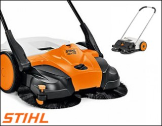 Stihl veeg machines